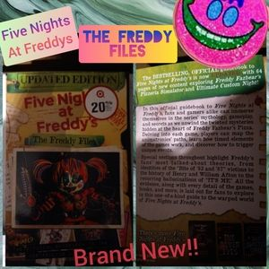 Brand New Five Nights At Freddy's Book